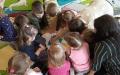 3.03.2020 Spotkanie z Przedszkolakami z Przedszkola w Racławicach