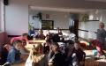 Poznajemy bibliotekę - lekcja biblioteczna  z uczniami klas 4 ze SP w Przegini 5.02.2019