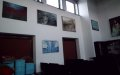 Zdjęcia wystaway malarstwa Anny Lweińskiej w Bibliotece w Jerzmanowicach