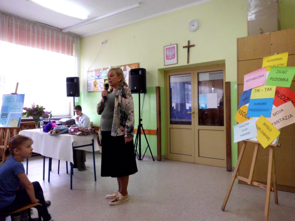 Spotkanie autorskie dla dzieci z Ewą Chotomską