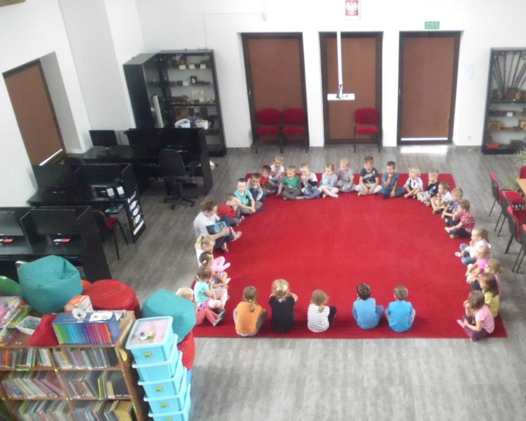 spotkanie z przedszkolakami 24.07.2019